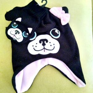Child's Winter Hat with mittens size s